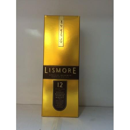 Whisky Lismore Especial Reserva 12 Años