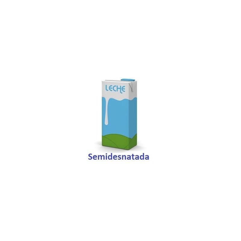Leche Semidesnatada Brik  1 Lt.