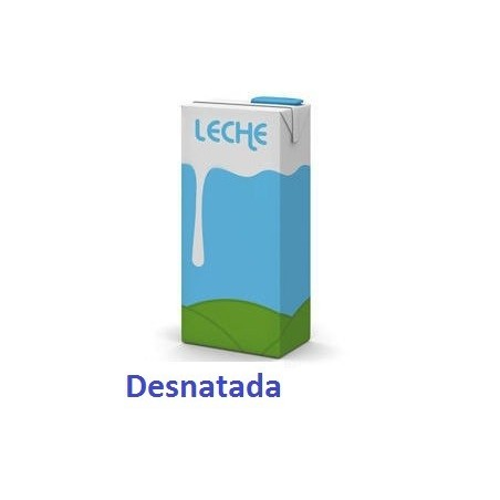 Leche Desnatada Brik 1 Lt.