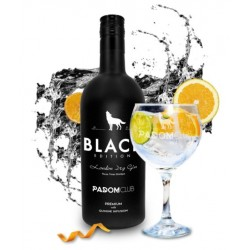 Padom Club Black Gin 0.70 cl. 40º