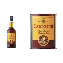 Brandy Carlos III 0,70 cl. 36º