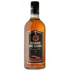 Ron Conde de cuba 7 años 0,70 cl 40º
