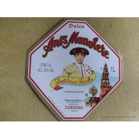 Anis Manolete Dulce  35º  1 Litro