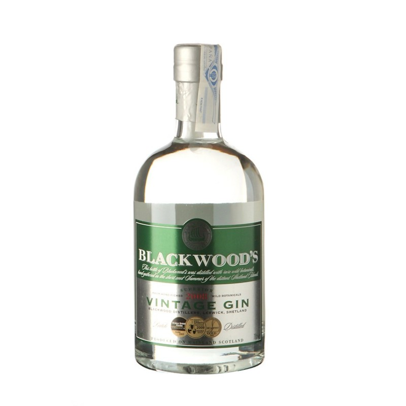 Ginebra Blackwood's  40º  0,70 cl.