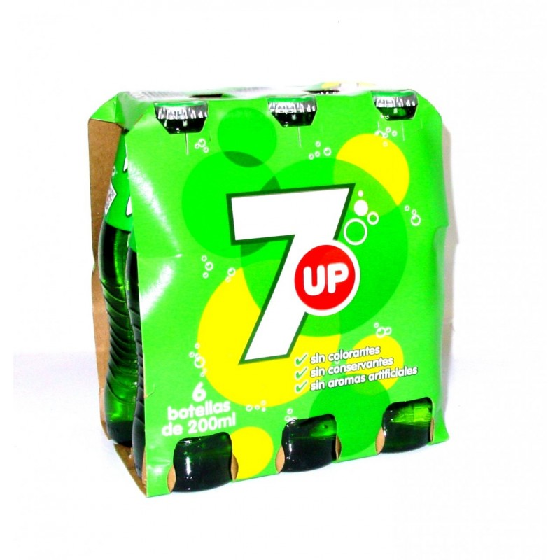 Seven Up Iglu  200ml pack de 6