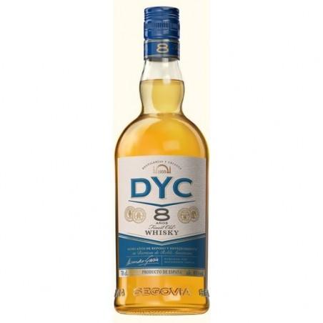 Whisky Dyc 8 Años  0,70cl.  40º