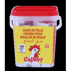Caldo Sabor Pollo Calnort 100 Pastillas