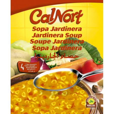 Sopa Jardinera Calnort