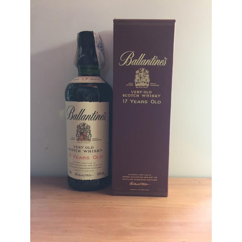 Whisky Ballantines 17 Años