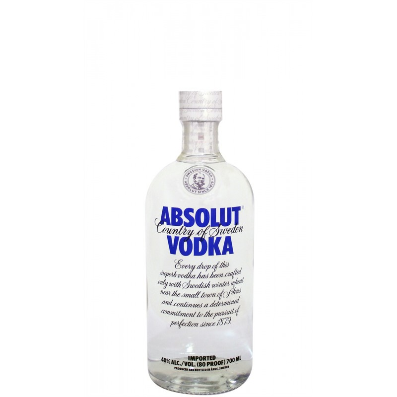 Vodka Absolut 0,70 cl.