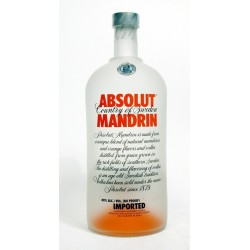 Vodka Absolut Mandarina 0,70 cl.
