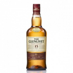 Whisky The Glenlivet 15 Años 0,70cl. 40º