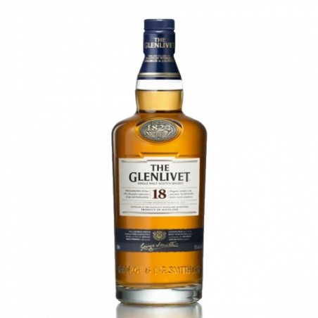 Whisky The Glenlivet 18 Años 0,70cl. 40º