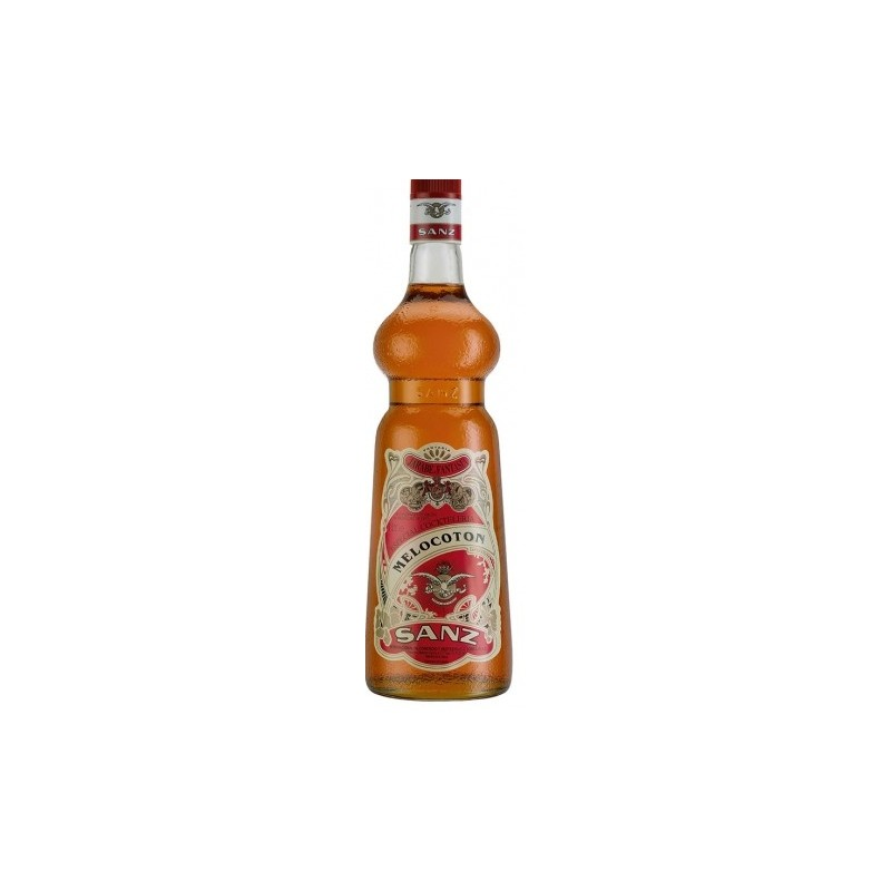 Jarabe Melocoton Sanz s/alcohol 1 Lt.