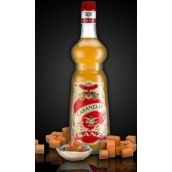 Jarabe Caramelo Sanz s/alcohol 1 Lt.