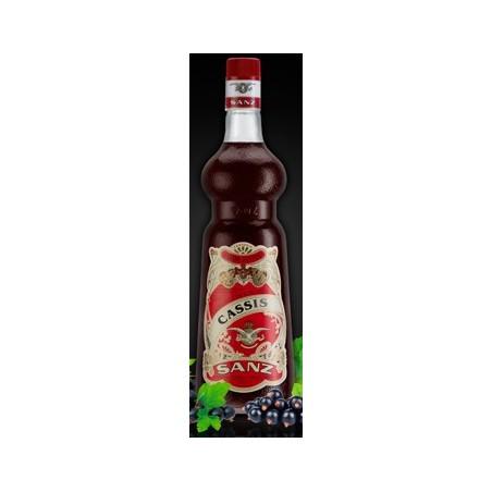 Jarabe Cassis  Sanz s/alcohol 1 Lt.