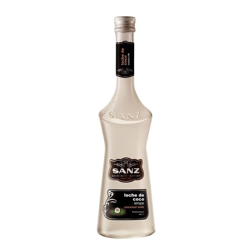 Jarabe Leche de Coco Sanz s/alcohol 0,70 cl.
