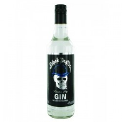 Ginebra Black Death 0,70 cl. 40º