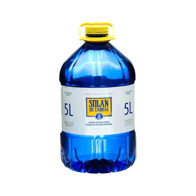 Agua Solan 5 Lt.