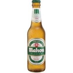 Cerveza Mahou Clasica NR 25cl. X 24Uds.