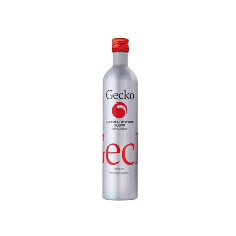 Vodka Gecko caramelo