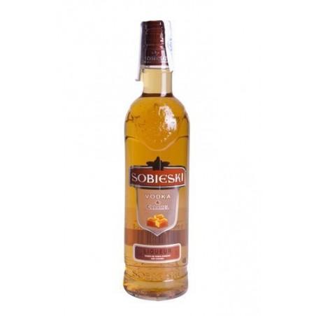 Vodka Sobieski Caramelo 0,70 cl. 18º