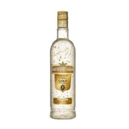 Vodka Sobieski Gold 0,70 cl. 37,5º