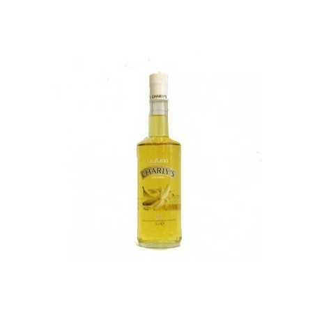 Licor de platano Charly's 70 cl. (sin alcohol)
