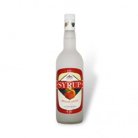 Licor de Melocoton Syrup 1.Lt. (sin alcohol)