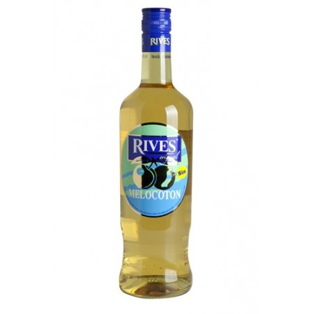 Licores Melocoton Rives 0,70 cl. (sin alcohol)