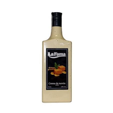 Crema de Turron La Fama 0,70 cl. 15º