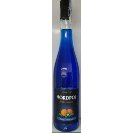 Licor de Curacao Blue Nordpol 0,70 cl. 21º