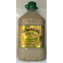 Crema de Orujo la Cepa 3 Litros. 15º