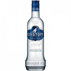 Vodka Eristoff 0,70 cl.