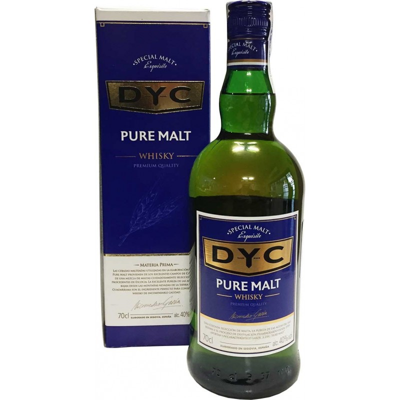 Whisky Dyc de Malta 40º
