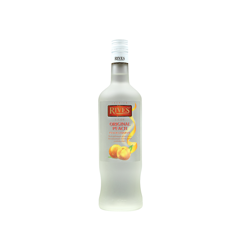 Licor de Melocoton Rives con Alcohol 20º