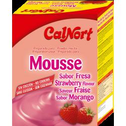Mousse Sabor Fresa Calnort