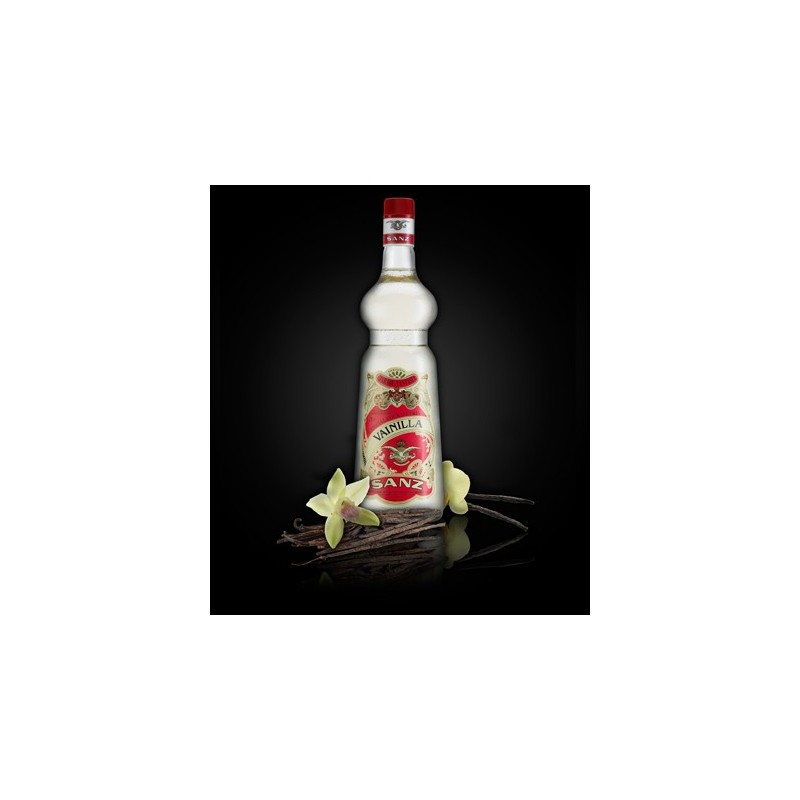 Jarabe Vainilla Sanz s/alcohol 1 Lt.