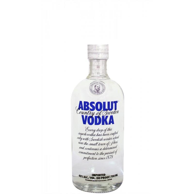 Vodka Absolut 0,70 cl.
