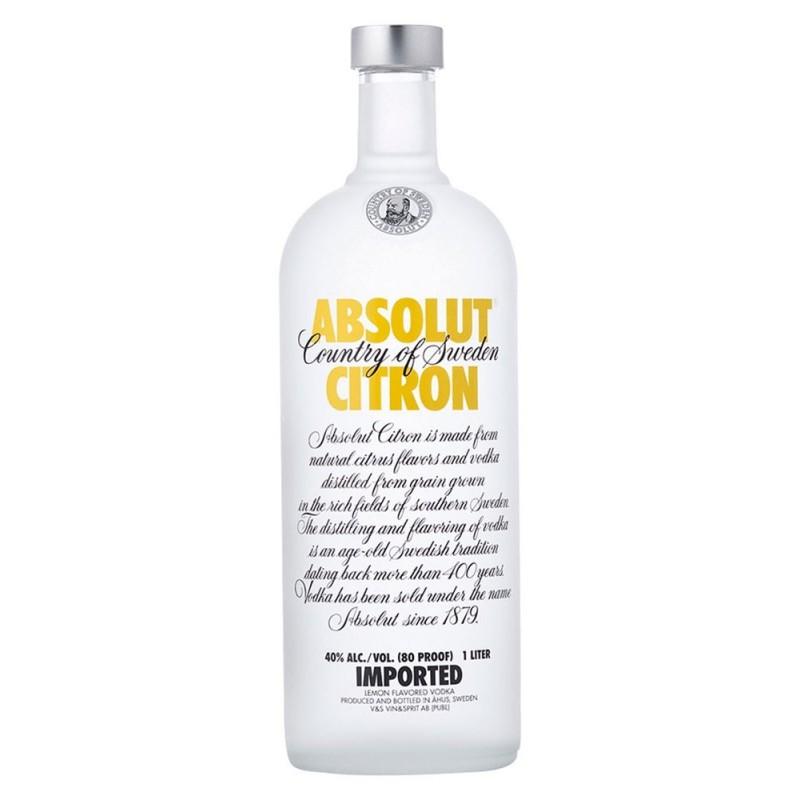 Vodka Absolut Citron