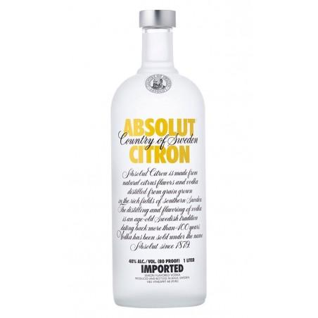 Vodka Absolut Citron 0,70cl. 40º