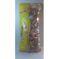 Bolsa de cacahuetes con cascara y sal