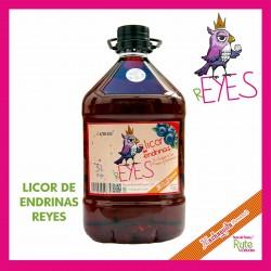 Licor de Endrinas Reyes 3 Lt.
