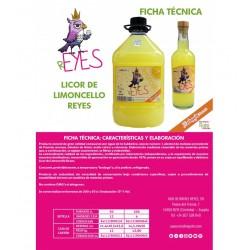Limoncello Reyes 3 L.