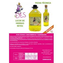 Licor de Hierbas Reyes 3 Lt.