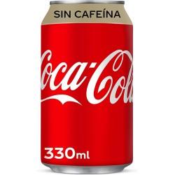 Bote Coca Cola sin cafeina