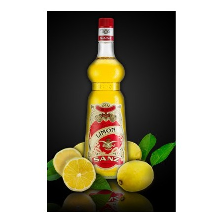 Jarabe Limon Sanz 1 Lt. Sin Alcohol