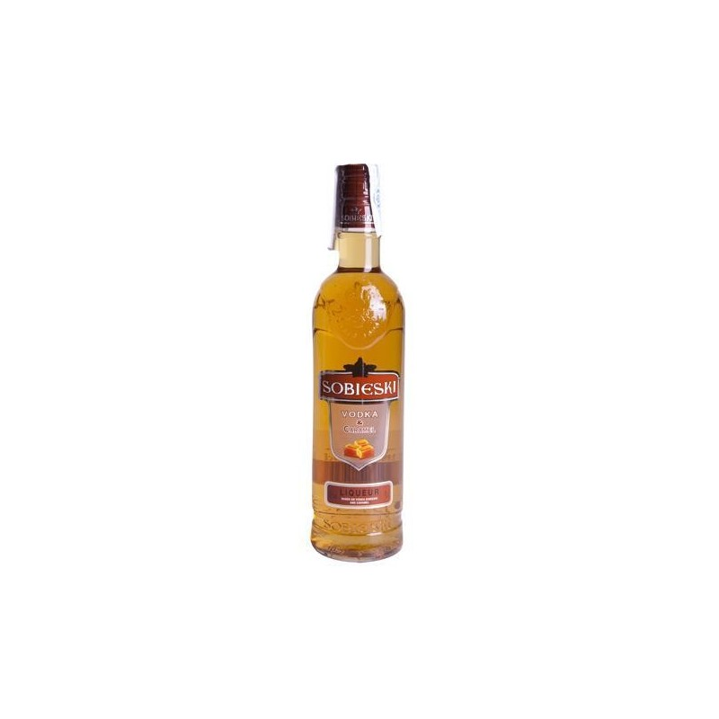 Vodka Sobieski Caramelo