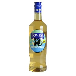 Licores Melocoton Rives sin 0,70 cl.