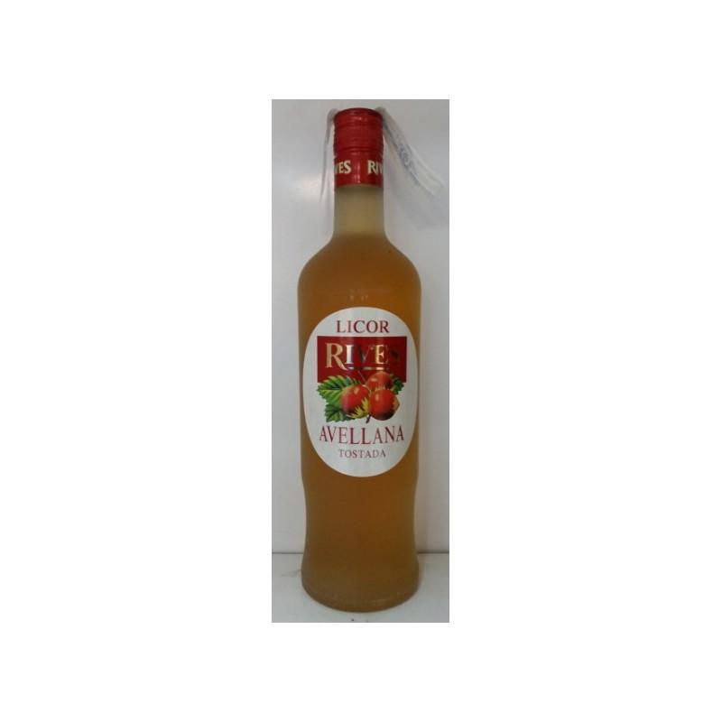 Licor Avellana Rives con alcohol
